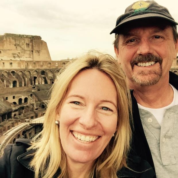 Kelly Hyman and Paul Hyman Visiting Italy