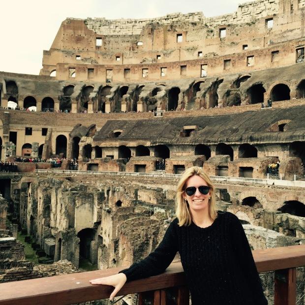 Kelly Hyman Visiting Italy