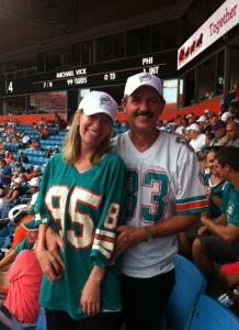 Kelly Hyman and Paul Hyman love Florida sports!